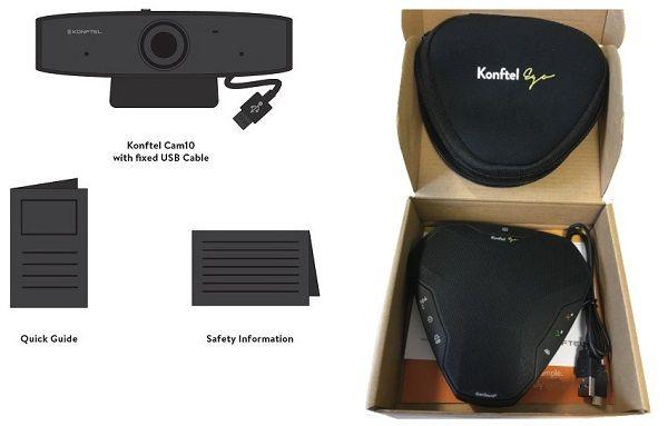 produktleverans konftel desktop konftel personal video Konftel Personal Video