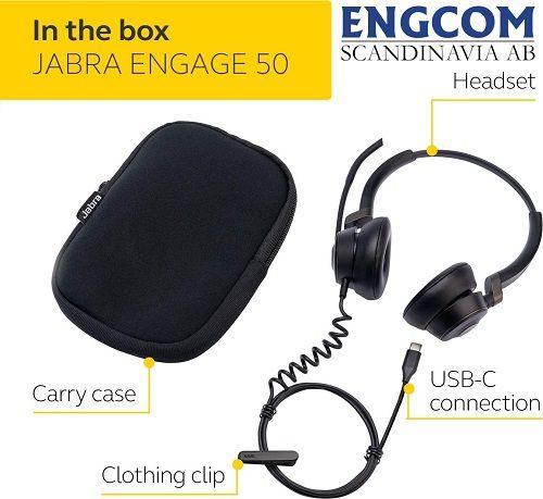 jabra engage 50 Jabra Engage 50 USB-C Svart
