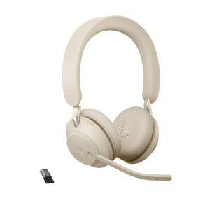 Jabra Evolve2 65 USB-A MS Beige Stereo