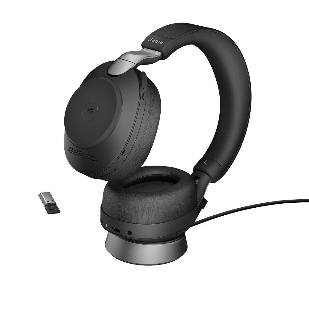 Jabra Evolve2 85 Stand USB-A Svart Stereo