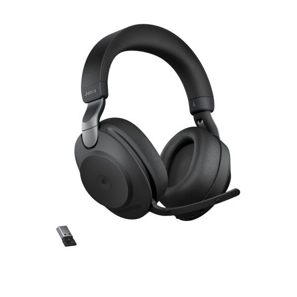 Jabra Evolve2 85 USB-A MS Svart Stereo